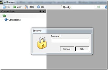 mRemoteSecurityPassword