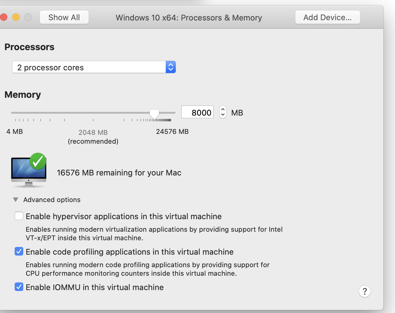 VMProcessor&Memory