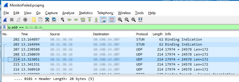 Wireshark Packet Capture
