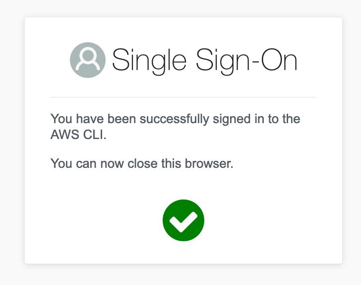 AWS CLI Success